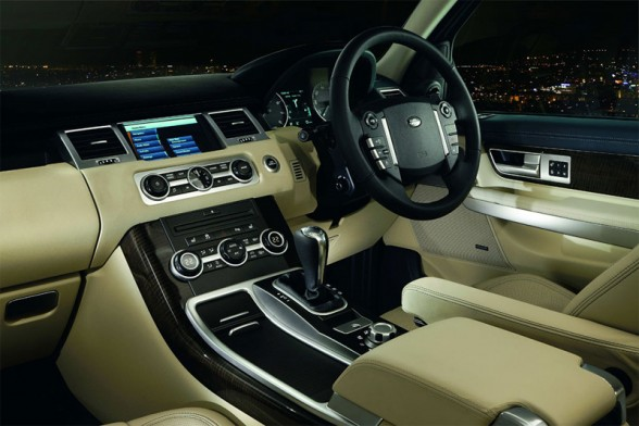 Range Over 2010 Interior