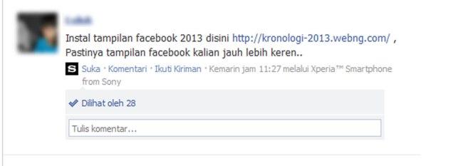 Virus Facebook 2013
